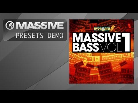 (6.48 MB) Massive Presets: Hy2rogen - Massive Bass Vol. 1 (EDM, Electro..)