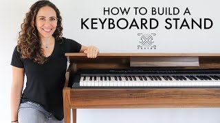 Building a Keyboard Stand // Woodworking // DIY Project