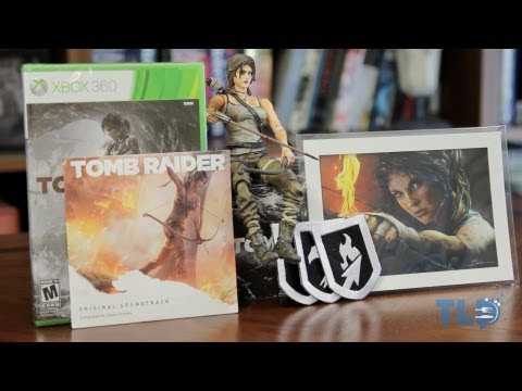 Unboxing: Tomb Raider Collector's Edition