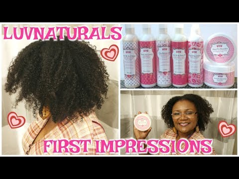 Nappylicious: LUV Naturals -  First Impressions #washNgo Turned #twistout #LuvNaturals