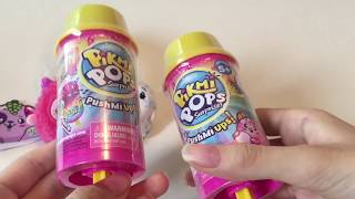 NEW PIKMI POPS / PUSHMI UPS! REVIEW BOX FROM MOOSE TOYS!