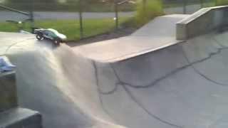 Remote control cars at wethersfeild skatepark