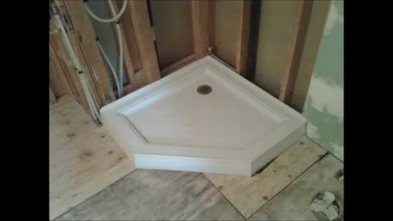 Shower Base Build Com
