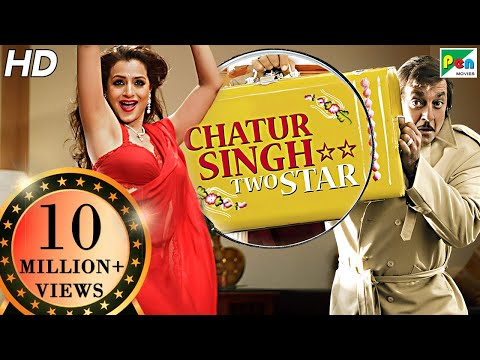 Chatur Singh Two Star | Full Movie | Sanjay Dutt, Ameesha Patel, Anupam Kher