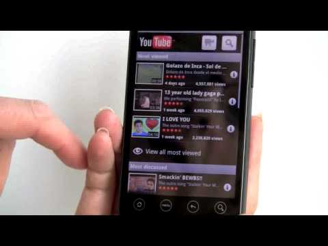 Sprint HTC EVO 4G Video Review