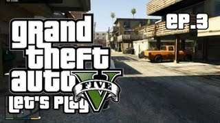 GTA V - Let's Play/Walkthrough - Mission 3: Repossession - #3 (Grand Theft Auto 5 Gameplay)