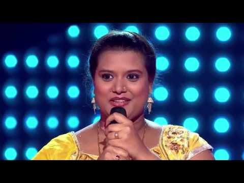 The Voice India - Mou Chatterjee Performance in Blind Auditions