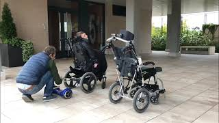 Proyecto AidWheels: Movilidad para sillas de ruedas con hoverboard