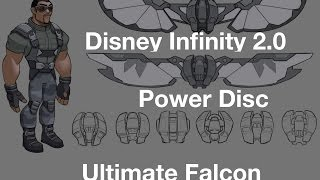 Disney Infinity 2.0 Ultimate Falcon Costume Gameplay