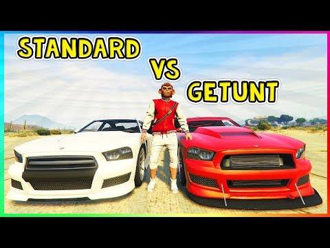 GTA 5 - GETUNTE VS UNGETUNTE FAHRZEUGE IM TEST! | UNTERSCHIEDE ZWISCHEN GETUNTEN & UNGETUNTEN AUTOS!
