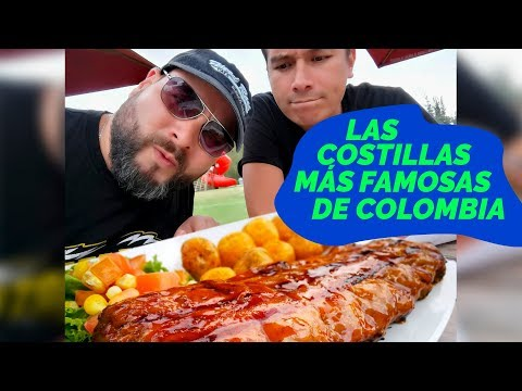 Las costillas más famosas de COLOMBIA *Salimos corriendo sin pagar*