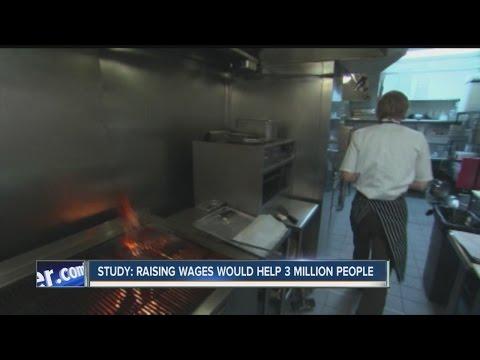 Study: Raising minimum wage could help millions