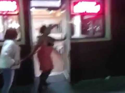 Fat Obese Black Girls Fight Over Food in Detroit..Dont mess with a fat girls food..