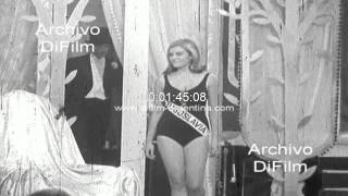 DiFilm - Reita Faria wins competition Miss World 1966