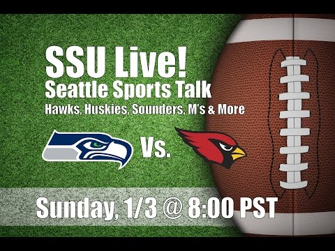 Seattle Seahawks Vs. Arizona Cardinals: Post Game Show, Playoff Speculation, and More!