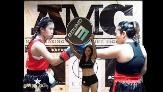 AMC Fight 11  KICK BOXING F - Tem Lekklar vs Dee Sao Lao