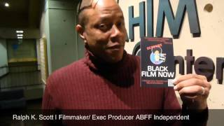 Ralph K. Scott - Black Film Now Postcard Promo