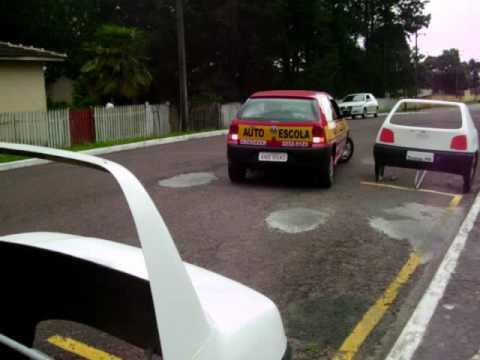 baliza estacionamento entrada