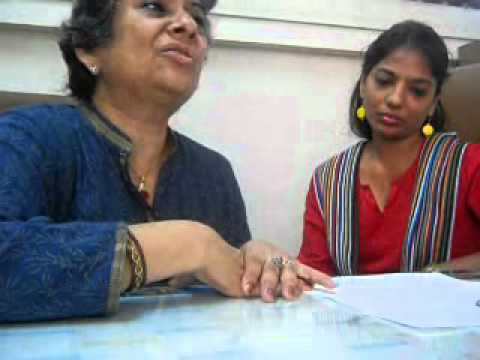 Sheela Sinha, Director  Education & Charanpreet Kaur, Deputy Director Helen Keller School   Part 6