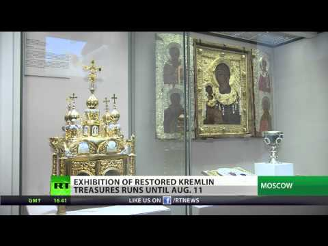 Kremlin treasures brought back to life