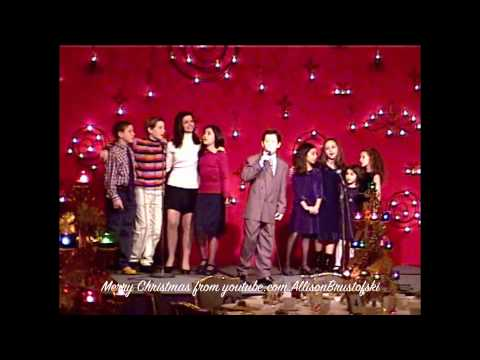 Ali Brustofski, Nick Jonas & the S.O.M. Kids, 2003 - a little Christmas past:)