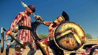 Leonidas of Sparta vs 40 Persians Rome 2 Total War