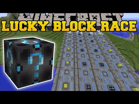 Minecraft: EXTREME FURY LUCKY BLOCK RACE - Lucky Block Mod - Modded Mini-Game