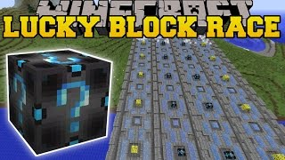 Minecraft: EXTREME FURY LUCKY BLOCK RACE - Lucky Block Mod - Modded Mini-Game