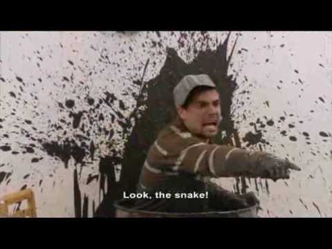 Schuks Tshabalala Snake Prank - Leon Schuster