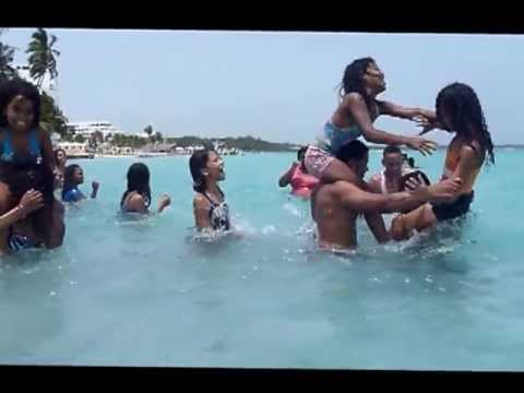 3 The Most Amazing 2013 Boca Chica Disco Beautiful Sexy Beach Chicas Water Fighting Bikini Models