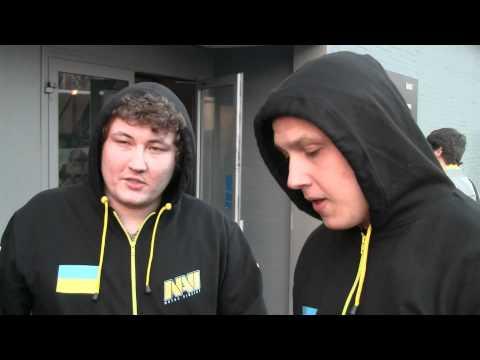 Na`Vi обсуждают тактику перед игрой с Fnatic