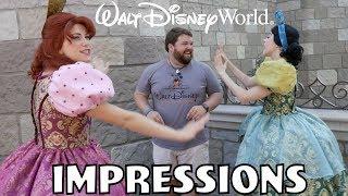I Scared Cinderella's Step Sisters!   Disney World Impressions