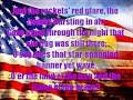 download mp3 dan video Star Spangled Banner Full Version with Lyrics on Screen
