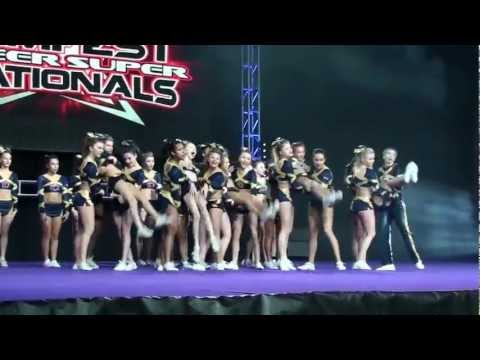 ICE CYCLONES 2013 CHEER  JAMFEST INDIANAPOLIS