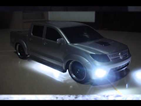 Mini hilux xenon. rebaixadas. modificadas !!