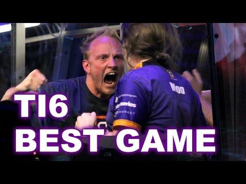 DC vs EG - WHAT A BEST GAME EVERRR EPIC TI6 1/2FINAL DOTA 2