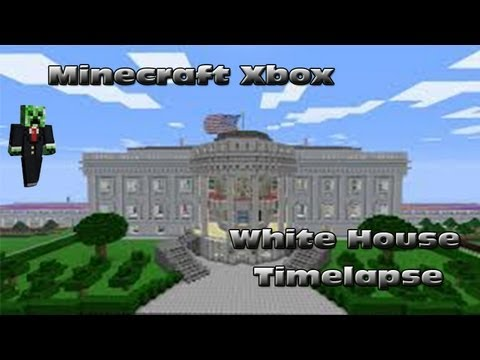 Minecraft Xbox: The White House Timelapse