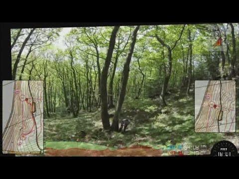 Headcam Orienteering - SinS - Brampton Bryan 23 May 15 - Part 1