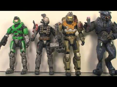 Halo Reach Box Set INTERACTIVE REVIEW: Size Comparison & Final Thoughts