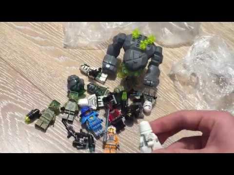 Посылка от подписчика! Захар Пятницын! Куча Раритетных Минифигурок Лего!