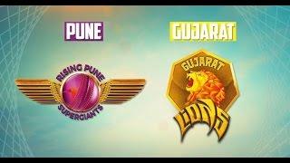 Ipl 2017 Rising Pune Supergaint Vs Gujarat Lions Full Match Highlights