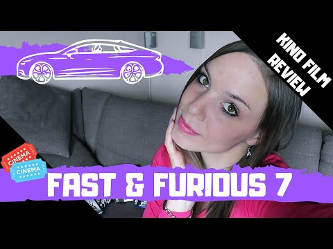 FAST & FURIOUS 7 - MEINE KINO FILM REVIEW !!