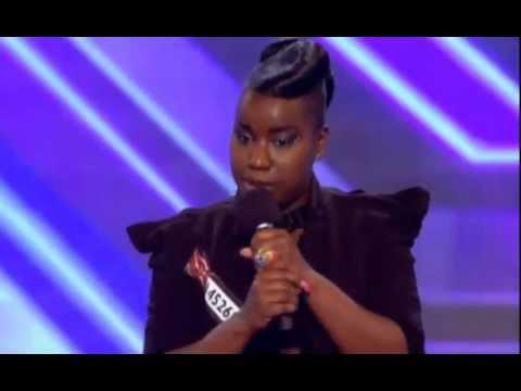 X Factor 2011 Misha Bryan- RESPECT- Aretha Franklin- Full Audition 27.08.2011