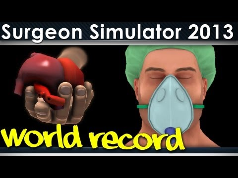 Surgeon Simulator 2013 Heart Surgery World Record (FULL GAME)