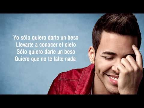 Prince Royce - Darte Un Beso + Letra video