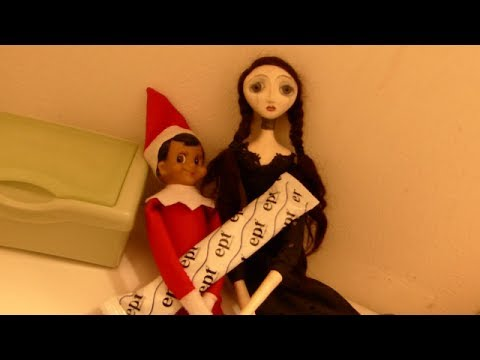 How our elf on the shelf went bad! - YouTube