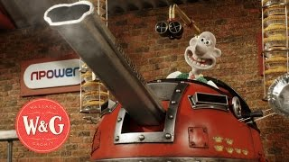 Backing the Bid - N Power and Wallace and Gromit