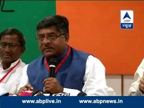 Ravi Shankar Prasad condemns Rahul Gandhi's attack on Modi over his marital status