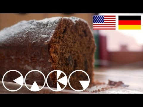 ROTWEINKUCHEN Rezept - RED WINE CAKE recipe