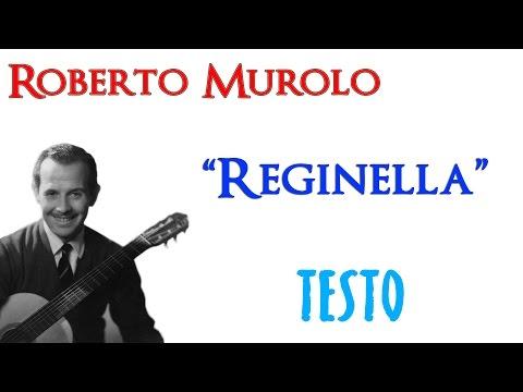 Roberto Murolo - Reginella   TESTO ᴴᴰ